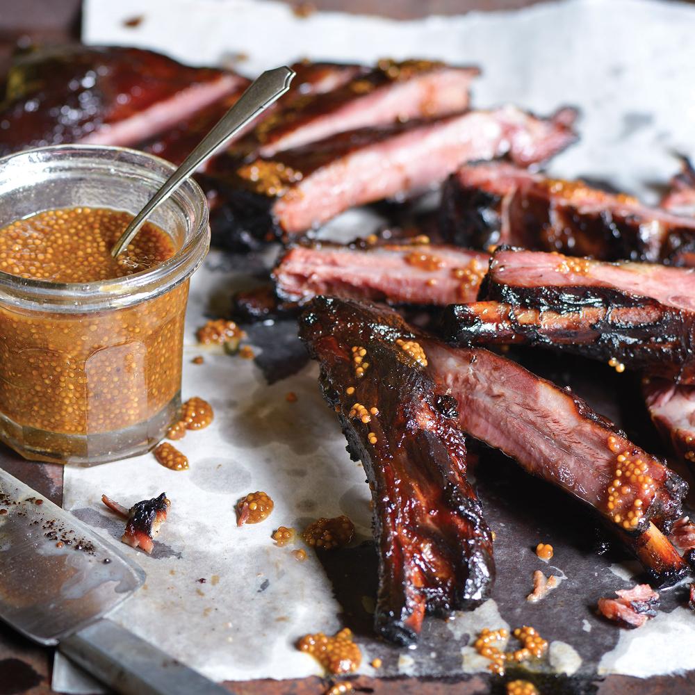 Honey-Cured Ham Ribs