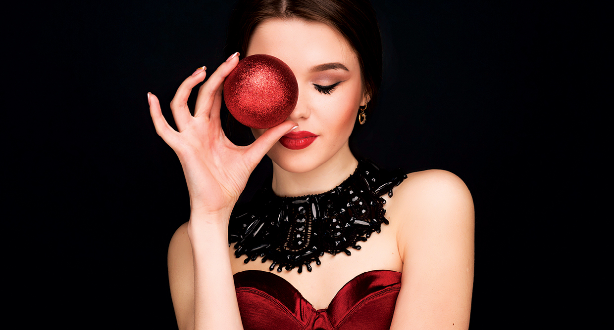 Holiday Makeup Trends 2017