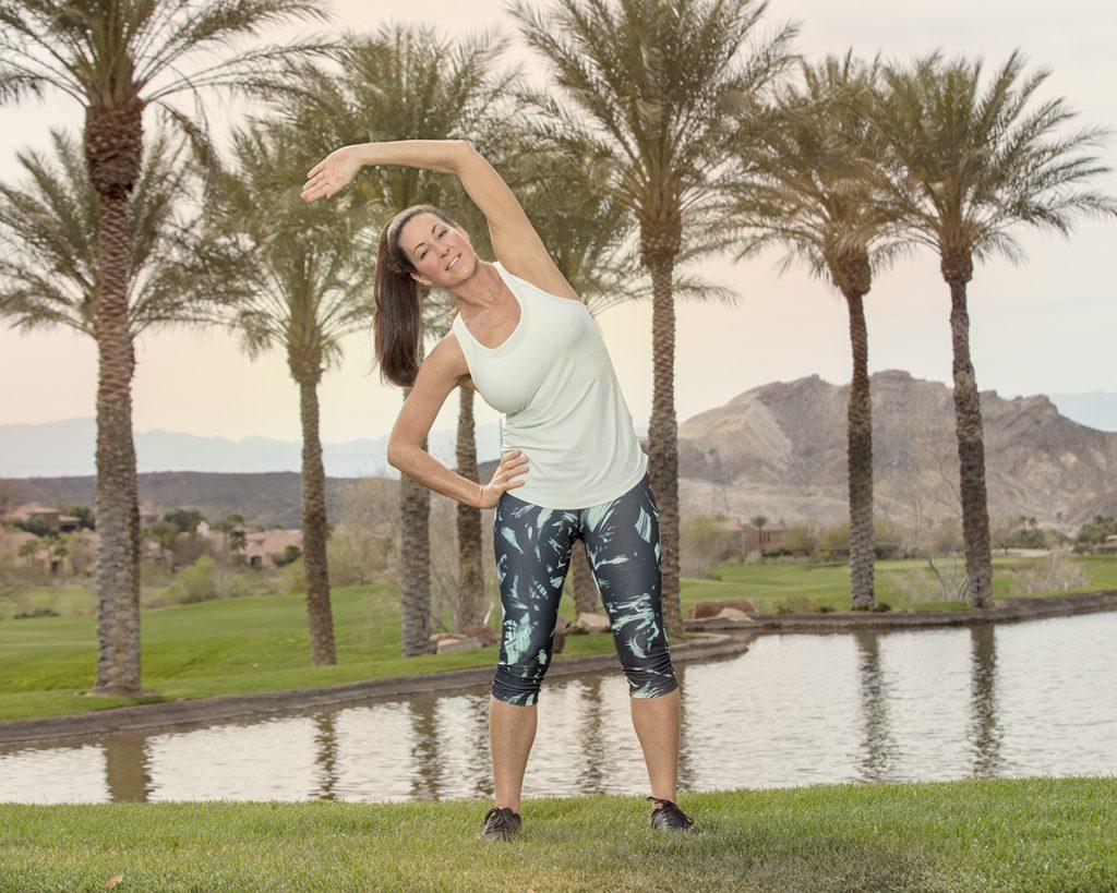 Core Stretches Oblique Side Stretch