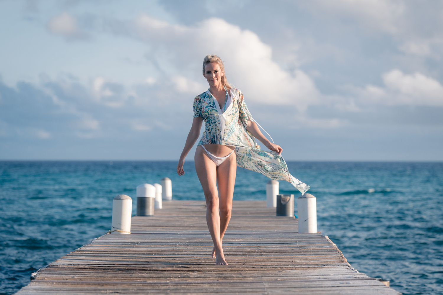 Mia Parres Moves To The Cayman Islands