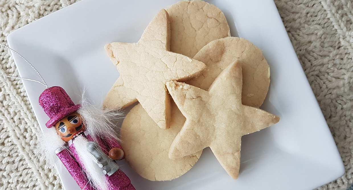 Vegan Shortbread Cookie Recipe