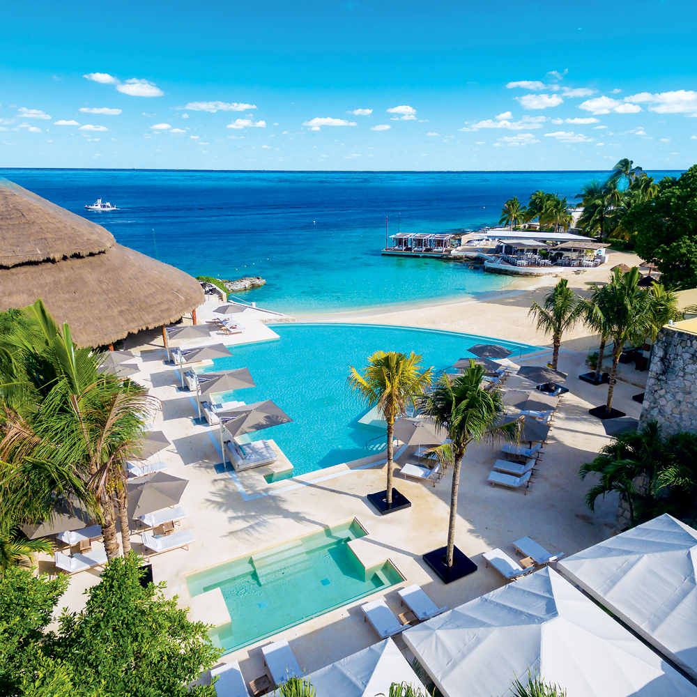 Introduce yourself to the luxurious side of Cozumel and Cancun with InterContinental